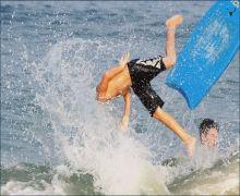 Board fall head