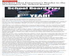 Hack school news
